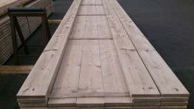 Old look steigerhout gedroogd 30x195x5000mm